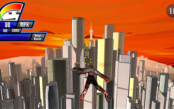 Sky Slam Screenshot
